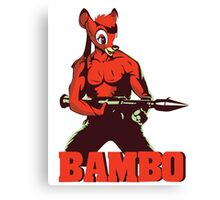 BAMBO YOUR FOREST COMMANDO Canvas Print