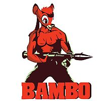 BAMBO YOUR FOREST COMMANDO Photographic Print
