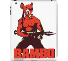 BAMBO YOUR FOREST COMMANDO iPad Case/Skin