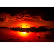 temporal sunset Photographic Print