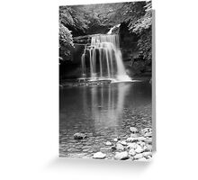 FALLING WEST  Greeting Card