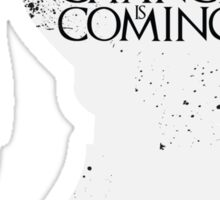 Change Is Coming Sticker