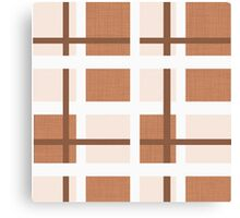 Abstract houndstooth Canvas Print