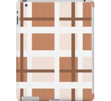 Abstract houndstooth iPad Case/Skin