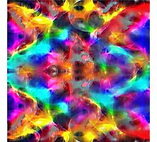abstract fractal retro style colors Photographic Print