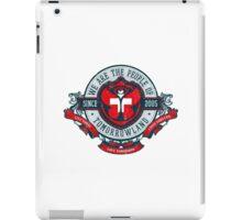 People of Tomorrowland Vintage Flags logo -  Switzerland - Suisse - Schweiz - svizzera iPad Case/Skin