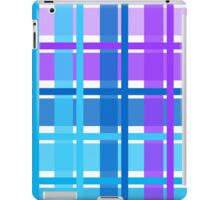 gingham fabric iPad Case/Skin