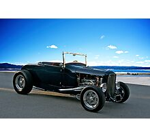 1930 Ford 'Classic Hot Rod' Roadster Photographic Print