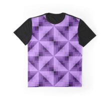 abstract violet purple Graphic T-Shirt