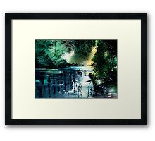 Stillness Speaks Framed Print
