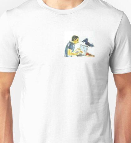 Nevermore, E.A.Poe: Sergei Lefert's drawing Unisex T-Shirt