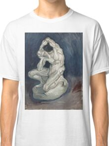 Vincent Van Gogh - Kneeling ecorche. Man portrait: strong man, boy, male, beard, business suite, trendy, boyfriend, smile, manly, sexy men, macho Classic T-Shirt