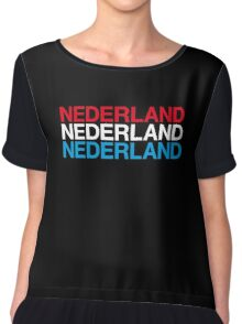 NETHERLANDS  Chiffon Top