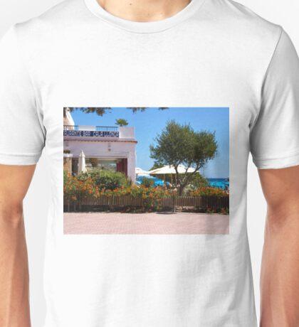 Restaurante Bar Cala LLonga Unisex T-Shirt