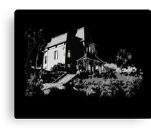 Welcome to Bates Motel Canvas Print
