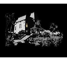 Welcome to Bates Motel Photographic Print