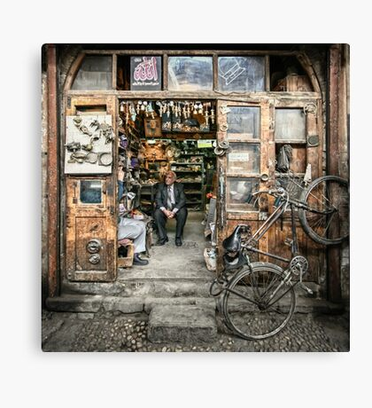 Meeting with the Boss #2 Canvas Print