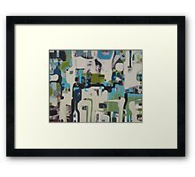 Meander about Framed Print