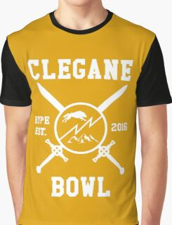 Clegane Bowl Hype Arms Print  Graphic T-Shirt
