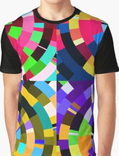 Radial tiles Graphic T-Shirt