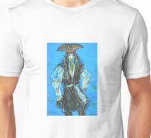 Captain Jack Sparrow: Sergei Lefert's drawing Unisex T-Shirt