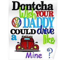 Dontcha Beetle Poster