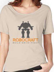 Robocraft Mech + Logo Women's Relaxed Fit T-Shirt