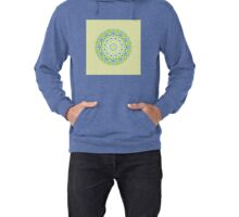Tilted Order Circle Bright Lightweight Hoodie