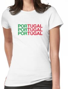 PORTUGAL Womens Fitted T-Shirt