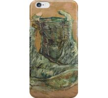 Vincent Van Gogh - Shoes.  shoes portrait:  shoes,  vintage shoes,  fashion,  colorful,  hipster,  leather ,  memories,  memory,  pair shoes,  boots, macho iPhone Case/Skin