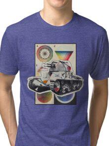 Carro Armato. Tri-blend T-Shirt