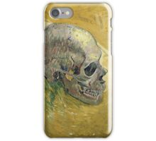 Vincent Van Gogh - Skull.  portrait skull: skeletal, skeleton, smoking, teeth, mouth, skull, remains, ash, head, fantasy , death iPhone Case/Skin