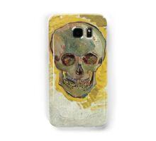 Vincent Van Gogh - Skull 2. portrait skull: skeletal, skeleton, smoking, teeth, mouth, skull, remains, ash, head, fantasy , death Samsung Galaxy Case/Skin