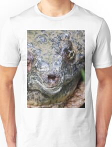 Common Snapping Turtle Close Up Unisex T-Shirt