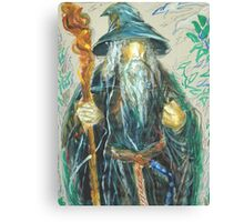 Gandalf: Sergei Lefert's drawing Canvas Print