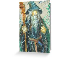 Gandalf: Sergei Lefert's drawing Greeting Card