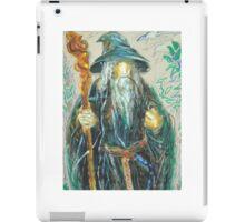 Gandalf: Sergei Lefert's drawing iPad Case/Skin