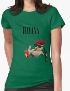 Havana - Smells Like Baby Spirit Womens Fitted T-Shirt