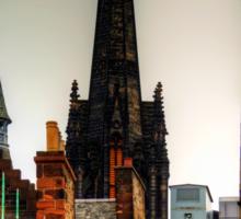 Over the rooftops of Edinburgh Sticker