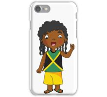 jamaica boy iPhone Case/Skin