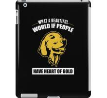 Heart of Gold iPad Case/Skin