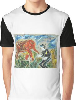 Michael Jackson's Zoo: Sergei Lefert's drawing Graphic T-Shirt