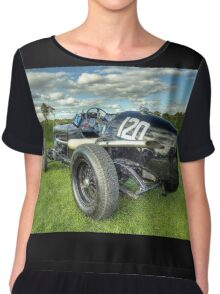 GN Instone Special  Vintage Racing Car Chiffon Top