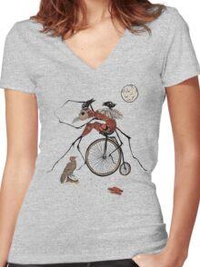 Gregor  Women's Fitted V-Neck T-Shirt