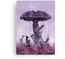 Emysfer - Forêt de mycoflores Canvas Print