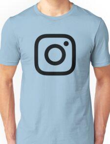 New Instagram Logo Black&White Unisex T-Shirt
