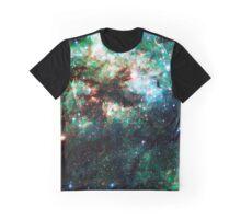 Tarantula Nebula [Weird Green] Graphic T-Shirt