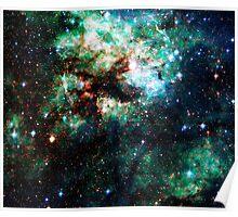 Tarantula Nebula [Weird Green] Poster