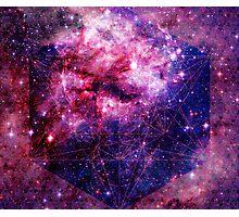 Tarantula Nebula Double Metatron's Cube Mewtwo Photographic Print