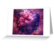 Tarantula Nebula Double Metatron's Cube [Mew] Greeting Card